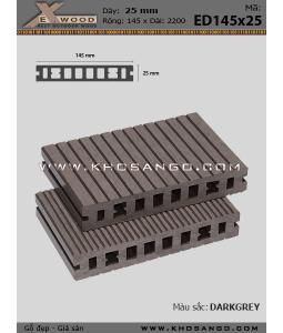 Sàn gỗ Exwood ED145x25-8-darkgrey