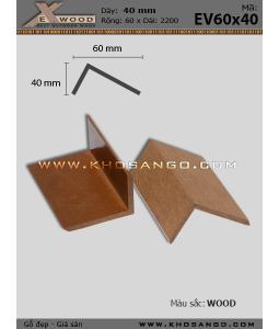Nẹp V Exwood EV60x40-wood