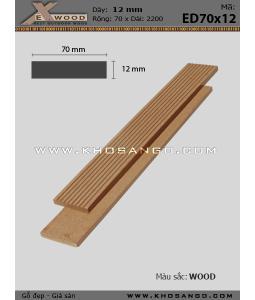 Lam Exwood ED70x12-wood