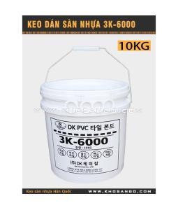 Keo dán sàn nhựa 3K6000 10kg