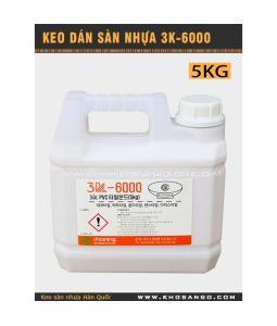 Keo dán sàn nhựa 3K6000 5kg