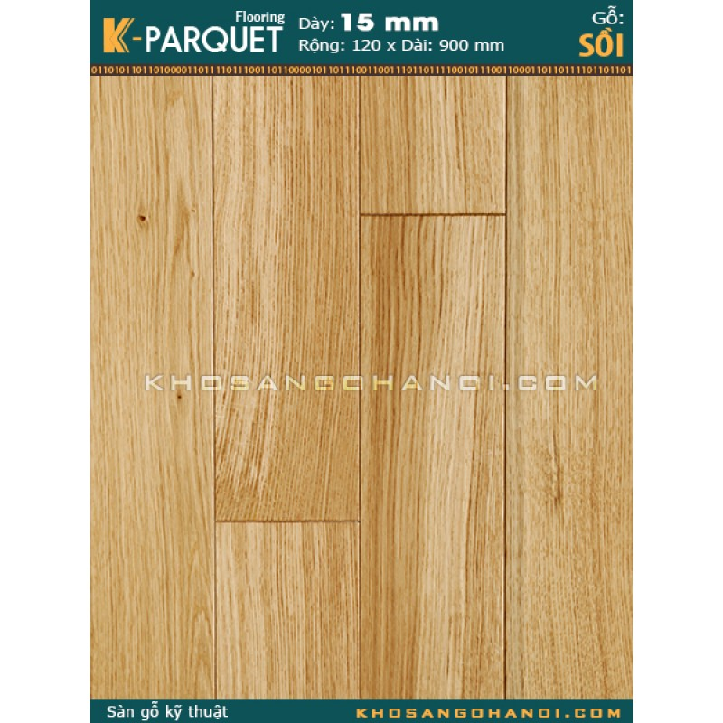 Oak Hardwood Technical Flooring
