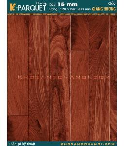 Sàn gỗ Giáng Hương Engineered 15x120x900