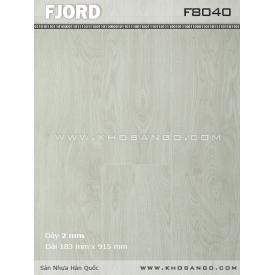Sàn nhựa Fjord FJ8040