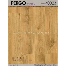 Sàn nhựa Pergo 40023