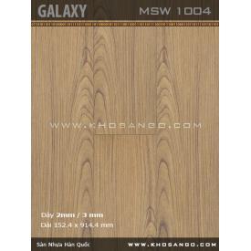 Sàn nhựa Galaxy MSW1004