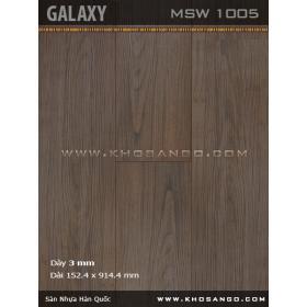 Sàn nhựa Galaxy MSW1005