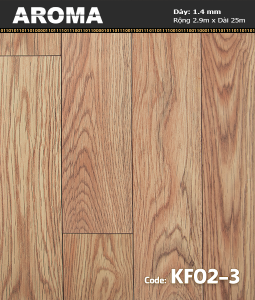 Sàn vinyl cuộn AROMA KF02-3