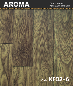 Sàn vinyl cuộn AROMA KF02-6