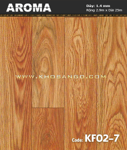 Sàn vinyl cuộn AROMA KF02-7