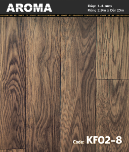Sàn vinyl cuộn Aroma KF02-8