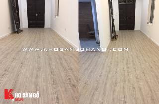 Hoàn thiện công trình sàn gỗ công nghiệp Malaysia tại Ba Đình, Hà Nội