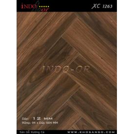 Sàn gỗ ghép xương cá XC1263