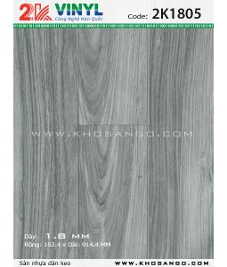 Sàn nhựa 2K Vinyl K1805