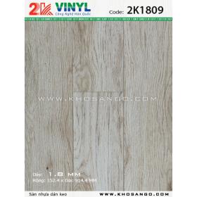 Sàn nhựa 2K Vinyl K1809