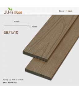 Ultra AWood UB71x10 Teak