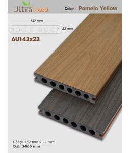 Sàn gỗ UltrAwood UA142x22 Pomelo Yellow