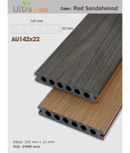 Sàn gỗ UltrAwood UA142x22 Red Sandalwood