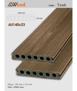 Sàn gỗ UltrAwood AU140x23 Teak B