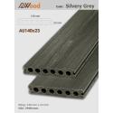 Sàn gỗ UltrAwood AU140x23 Silvery Grey