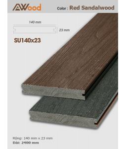 Sàn gỗ UltrAwood SU140x23 Red Sandalwood