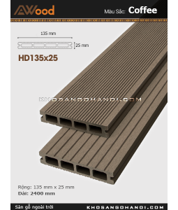 Sàn gỗ Awood HD135x25-4-coffee