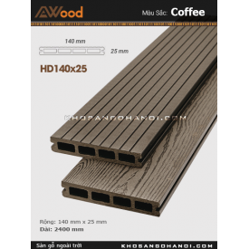 Sàn gỗ Awood HD140x25-4-coffee