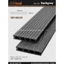 Sàn gỗ Awood HD140x25-4-darkgrey