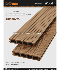 Awood Decking HD140x25-4-wood