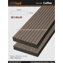 Sàn gỗ Awood SD140x25_cafe
