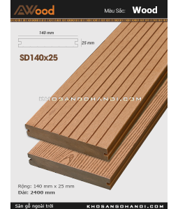 Awood Decking SD140x25-wood