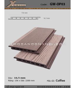 Sàn gỗ Exwood GW-OP3-Coffee