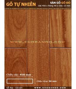 Doussie hardwood flooring 450mm