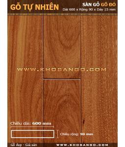 Doussie hardwood flooring 600mm