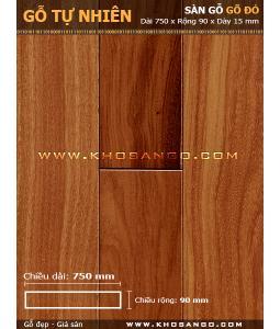 Doussie hardwood flooring 750mm