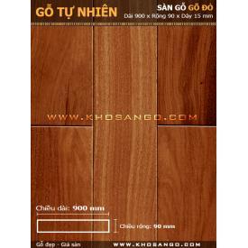 Sàn gỗ gõ đỏ 900mm