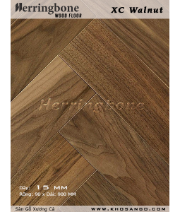 Walnut Fishbone Wood Flooring