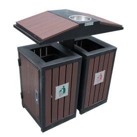Thùng rác ngoài trời TRD01-GI