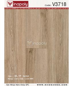 Vinapoly Spc vinyl flooring V3718