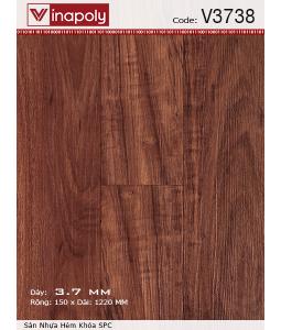 Vinapoly Spc vinyl flooring V3738