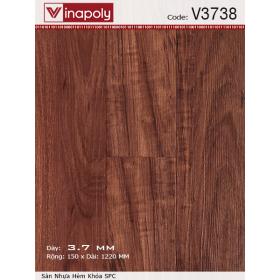 Sàn nhựa Vinapoly V3738