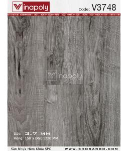 Vinapoly Spc vinyl flooring V3748