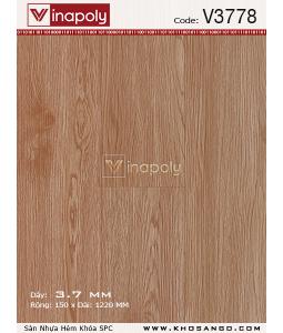 Vinapoly Spc vinyl flooring V3778