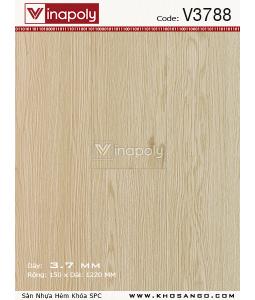 Vinapoly Spc vinyl flooring V3788
