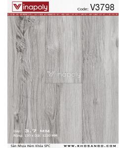 Vinapoly Spc vinyl flooring V3798