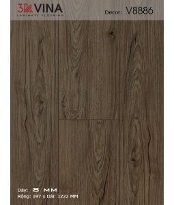 3K VINA Laminate Flooring V8886