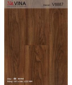 3K VINA Laminate Flooring V8887
