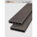 Sàn gỗ AWood HD140x25-4 Socola