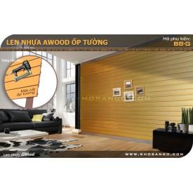 Gỗ ốp tường Awood  B8-G