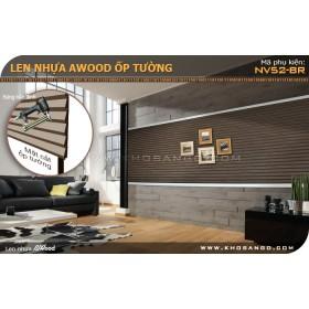 Gỗ ốp tường Awood NV52-BR